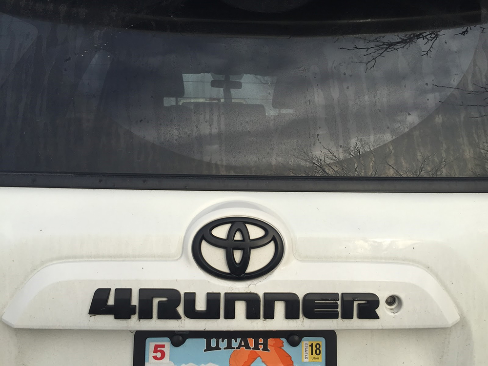 Plasti Dip Emblems >> 4Runner Blackout Emblems Vs. Plasti-dip, 5th Gen 4Runner ...