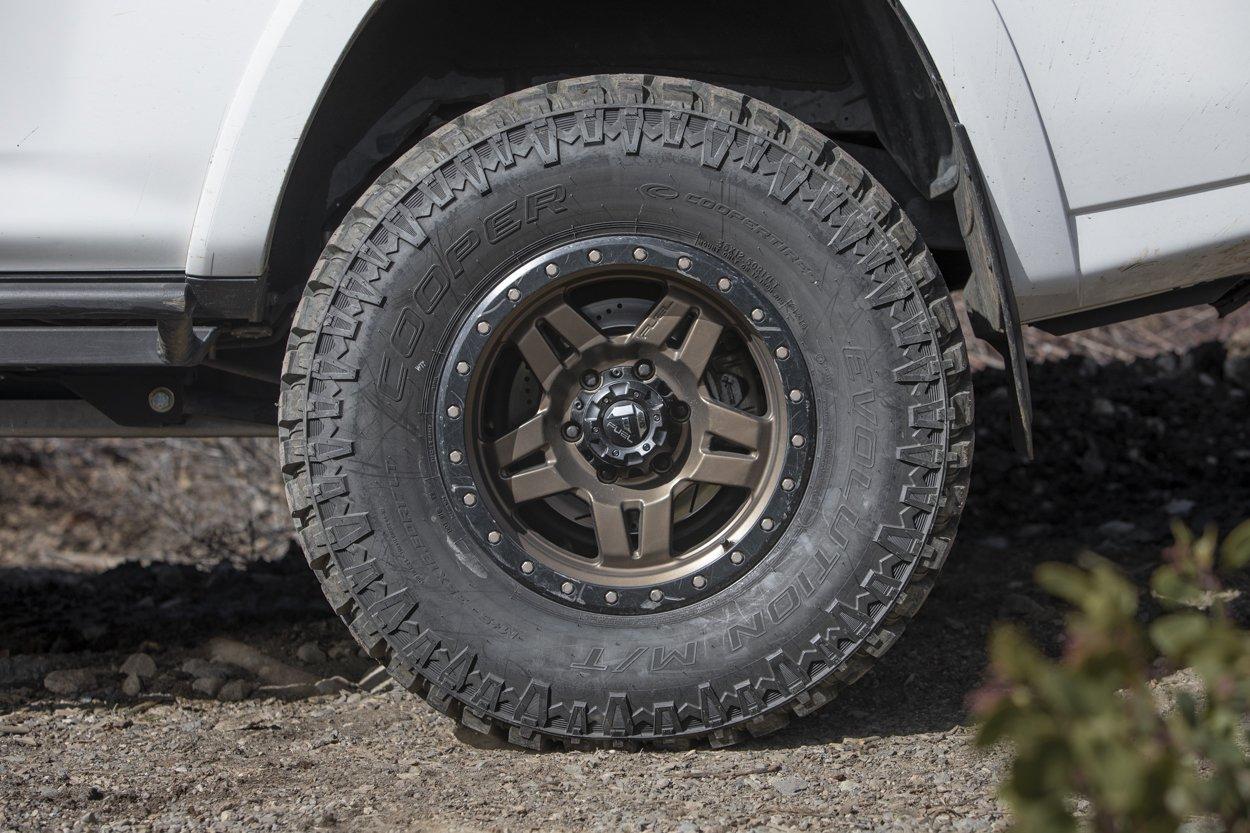 Cooper Tires EVO MT 35s on 5th Gen 4Runner