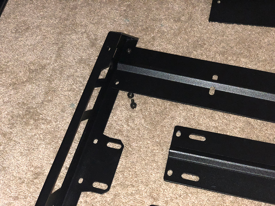 Assembling the NFab Roof Rack Step 3