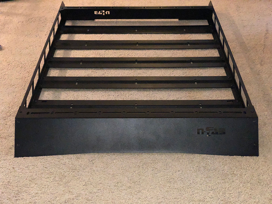Assembling the NFab Roof Rack Step 4: Finalizing the Rack Assembly