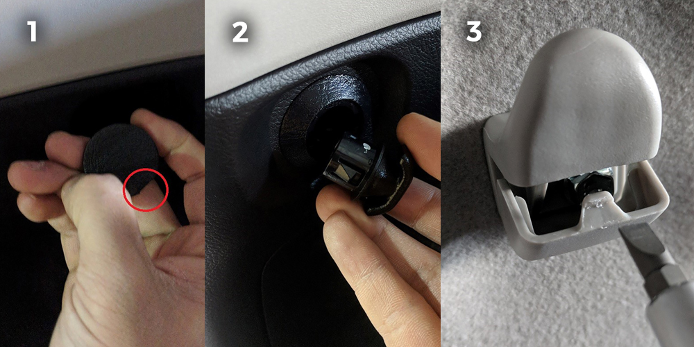 Rago Fabrication MOLLE Install - Step #2: Remove front cover screw