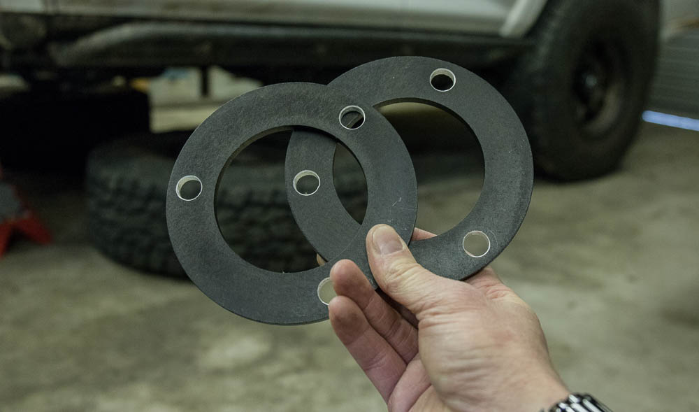 Ekstrom Design Strut Shims for 5th Gen 4Runner