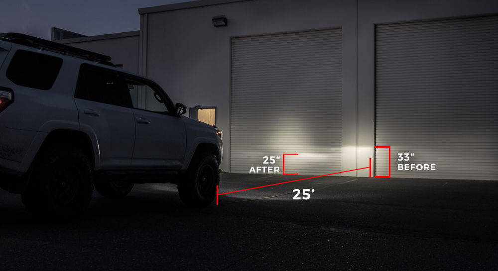 How To Adjust Headlights >> How To Aim Your Low Beam Headlights 5th Gen Toyota 4runner
