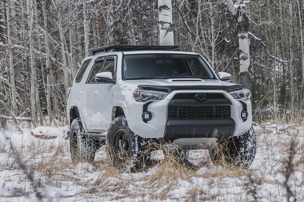 Stampede Reservoir - Truckee, CA Winter Off-Road Trail