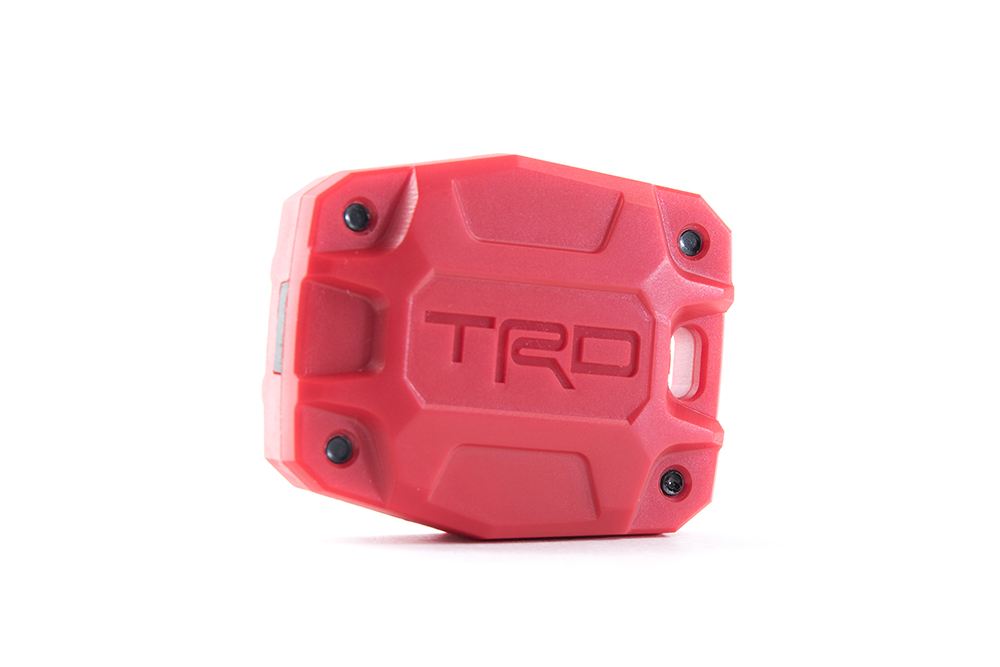 Inferno Red TRD 5th Gen 4Runner Key Fob