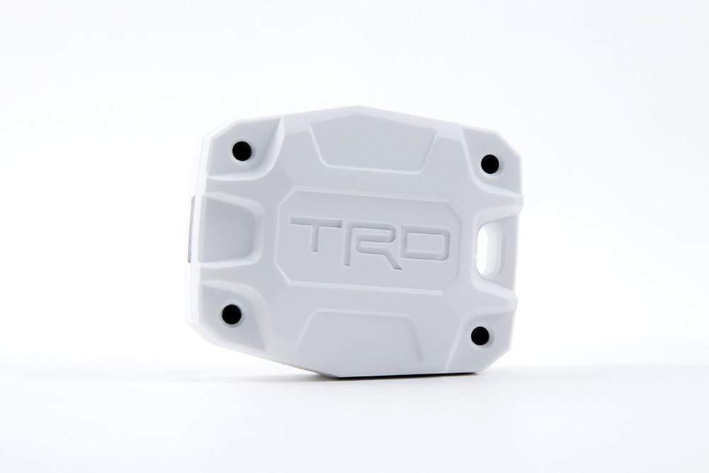 White TRD 5th Gen 4Runner Key Fob