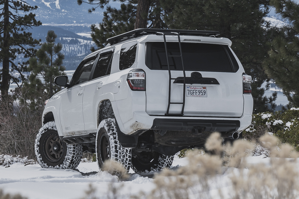 Verdi Peak - Truckee, Ca Winter Off-Road Trail