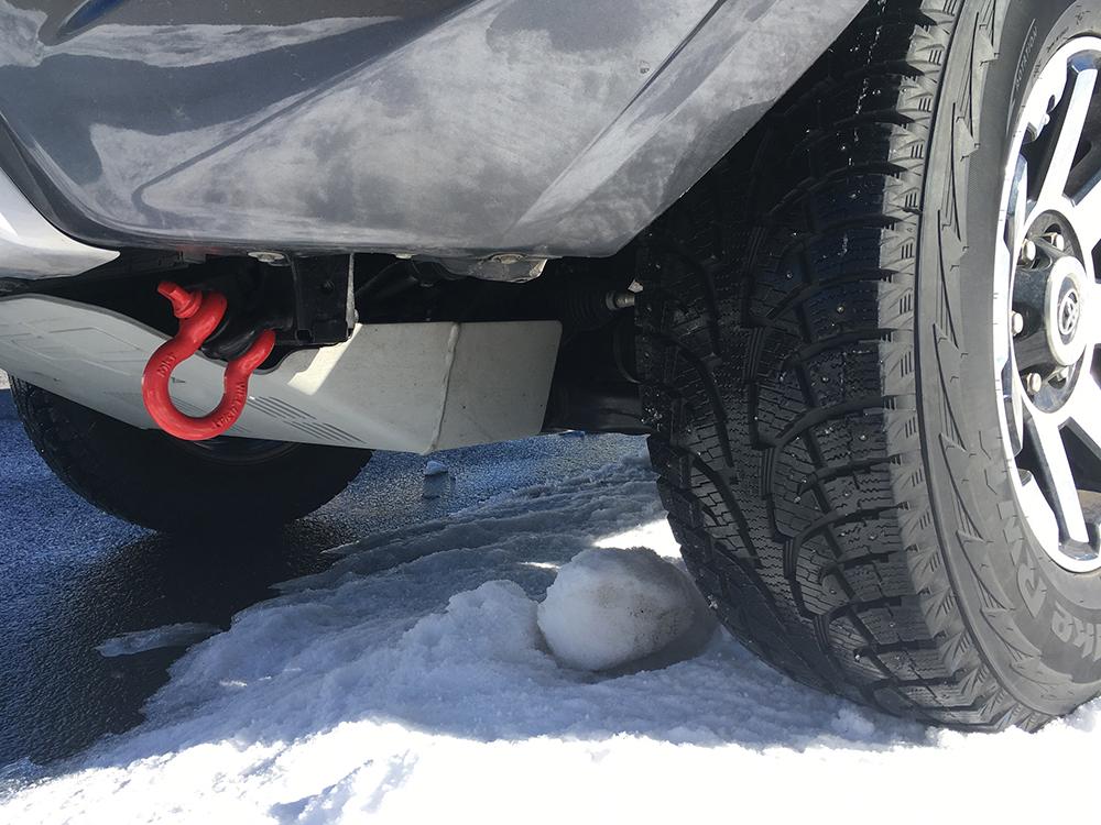 4Runner Studded Snow Tires