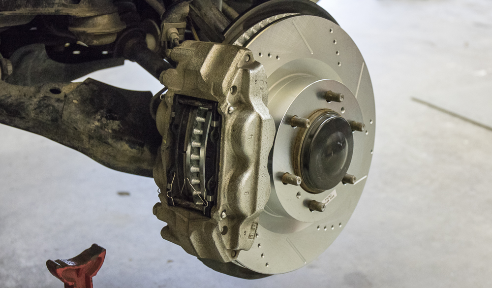 Replace Caliper Assembly