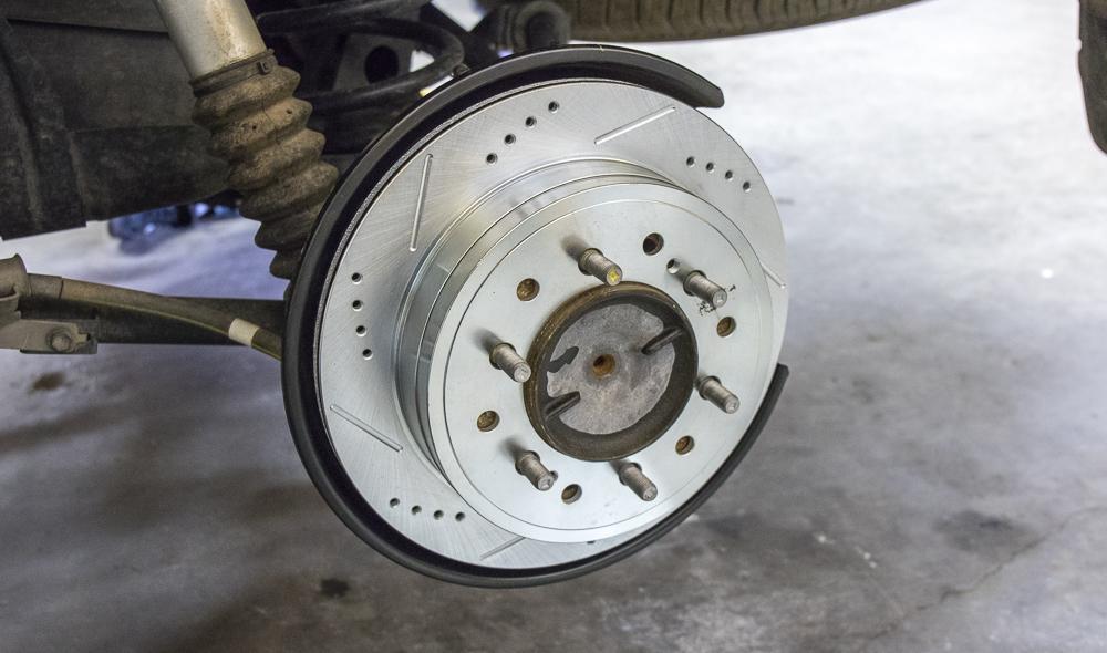 Install New Rotors