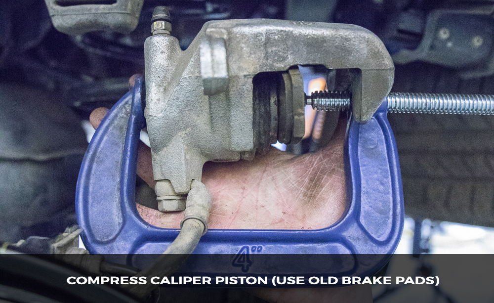 Compress Caliper Piston