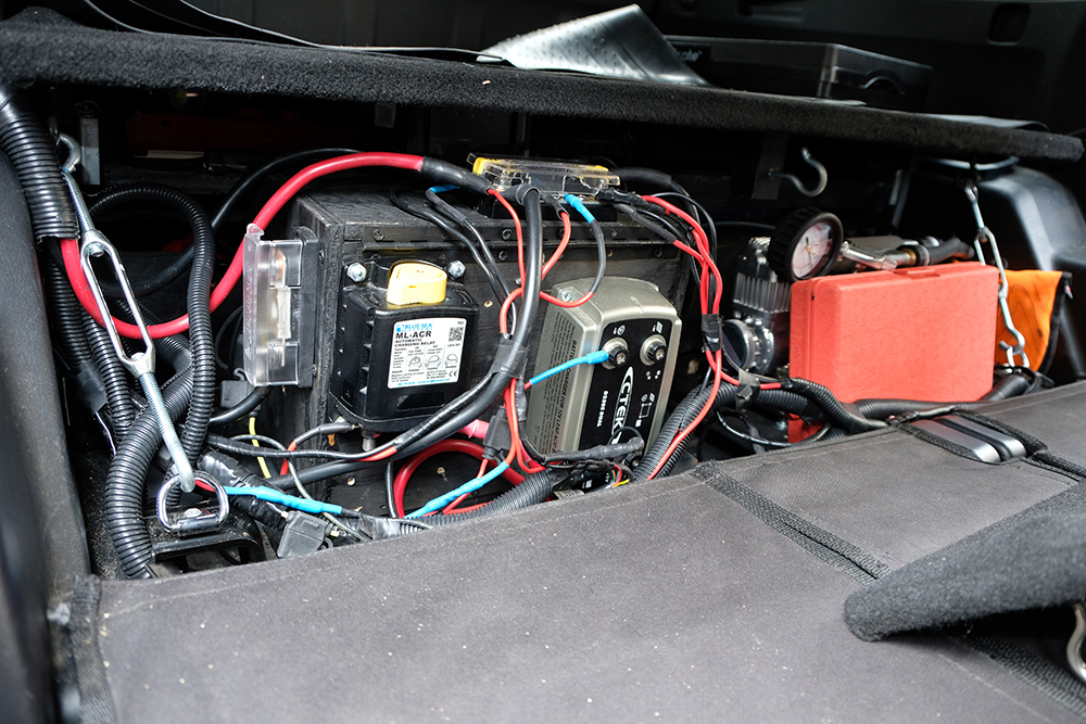 Rear Dual Battery Set-Up on 5th Gen 4Runner, 4Runner Dual Battery  Rd Gen Runner Wiring Diagram Added Accessories on