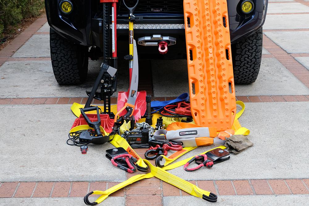 4Runner Recovery Gear Setup