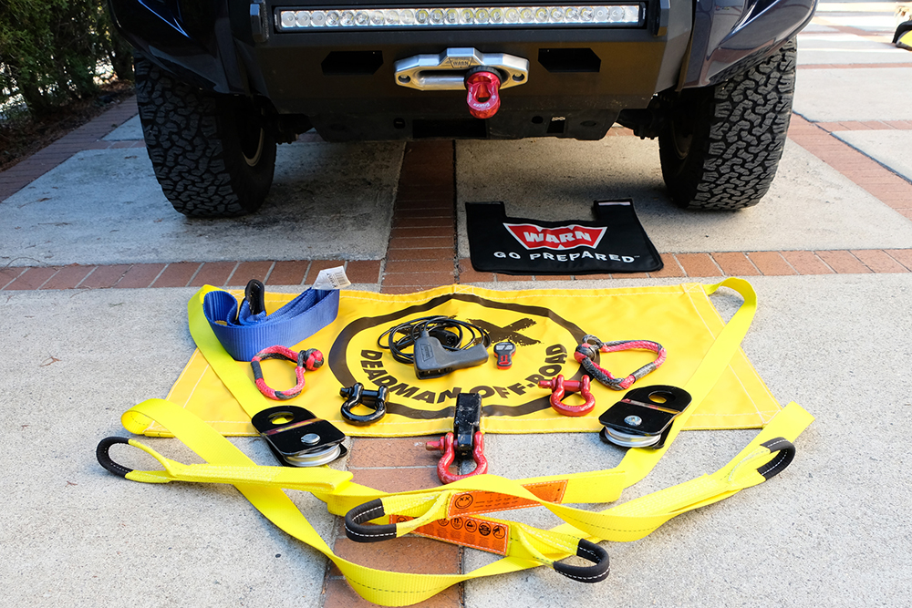 Warn Winch Gear Setup