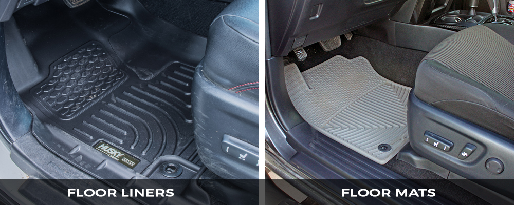 Floor Mats and Floor Liners – What is the Difference?