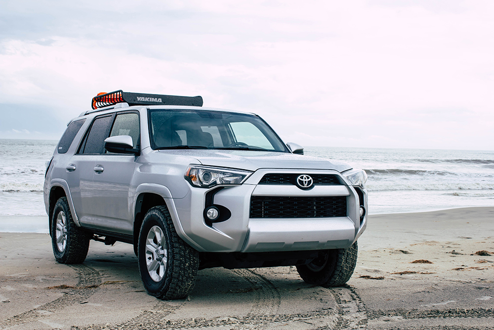 Yakima Racks Load Warrior on 5th Gen 4Runner