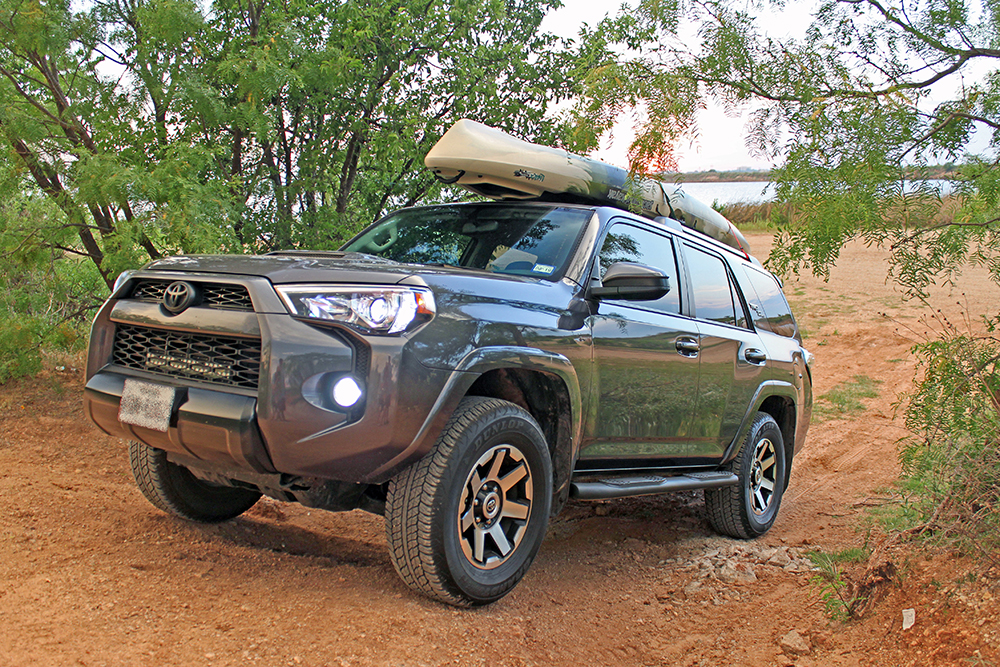 Kayak Canoe Paddle Board Roof Rack Carrier For Toyota 4runner