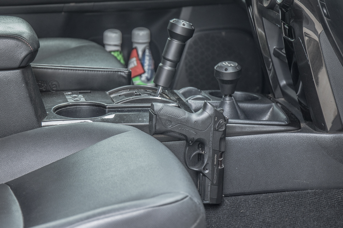 Mounting a Handgun in the 5th Gen 4Runner