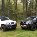 Toyota 4Runner TRD Off Road vs Nissan Xterra Off Road