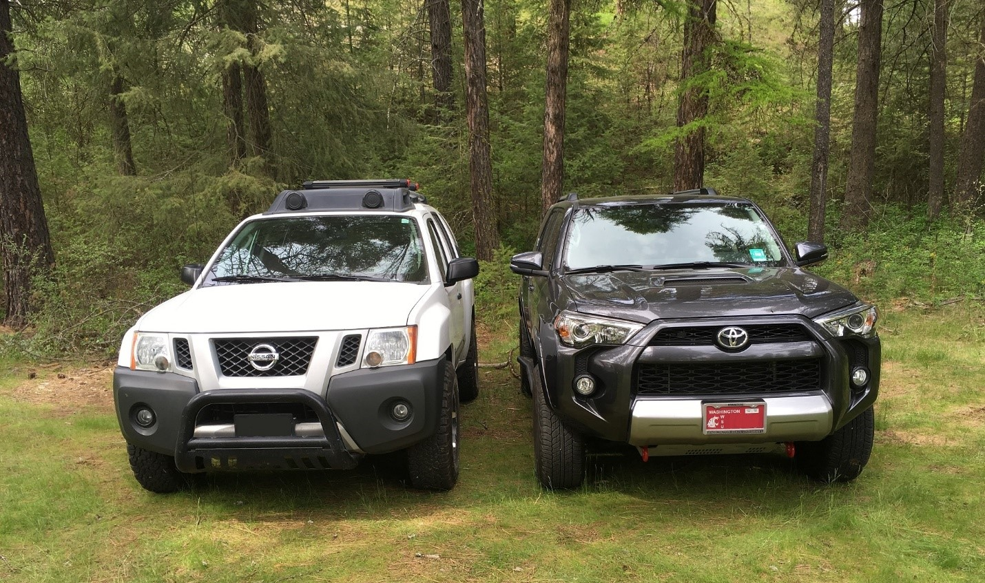4Runner TRD Off-Road Vs Xterra Off-Road, Body on frame ...