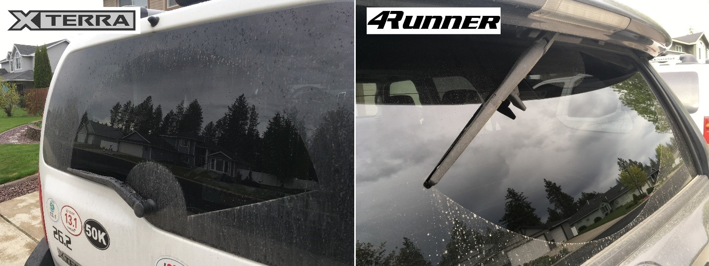 BACK WINDSHIELD WIPER WINNER: 4Runner