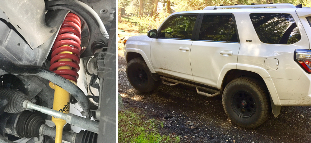 Dobinsons Lift for the 5th Gen 4Runner