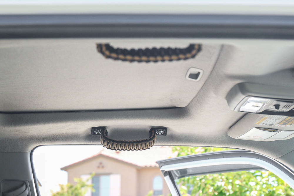 Paracord Grab Handles on the 5th Gen 4Runner