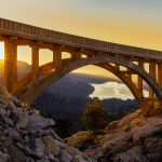 Donner Summit Bridge and Donner Pass