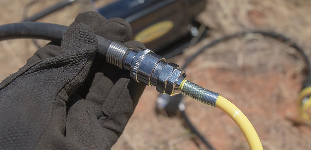 Connect Compressor to Air Hose