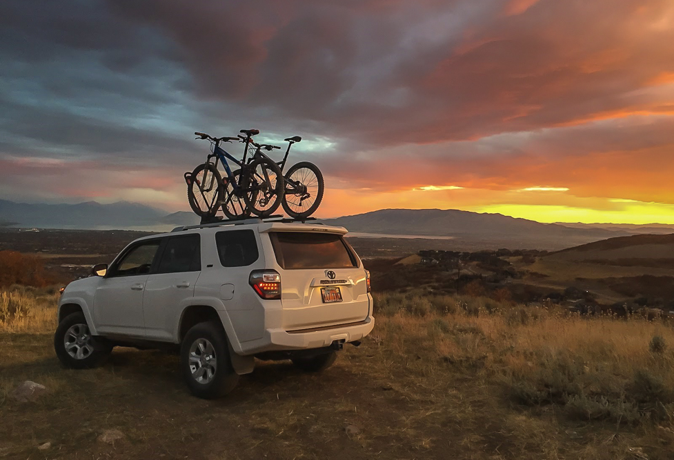 Yakima Frontloader Rooftop Bike Rack 5th Gen 4Runner