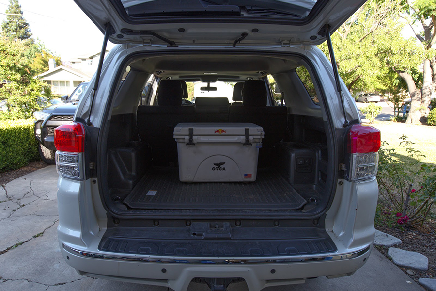 Step 1: Open liftgate and turn off power.