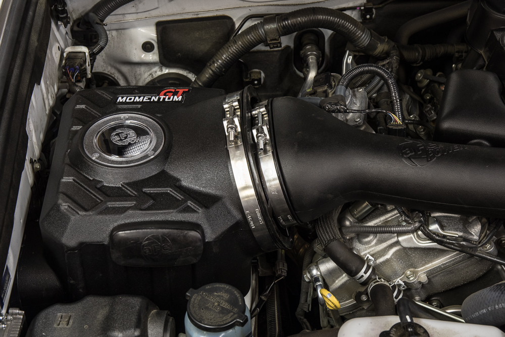 aFe Cold Air Intake Install on 5th Gen 4Runner