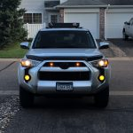 amber marker light pods 5th gen 4runner
