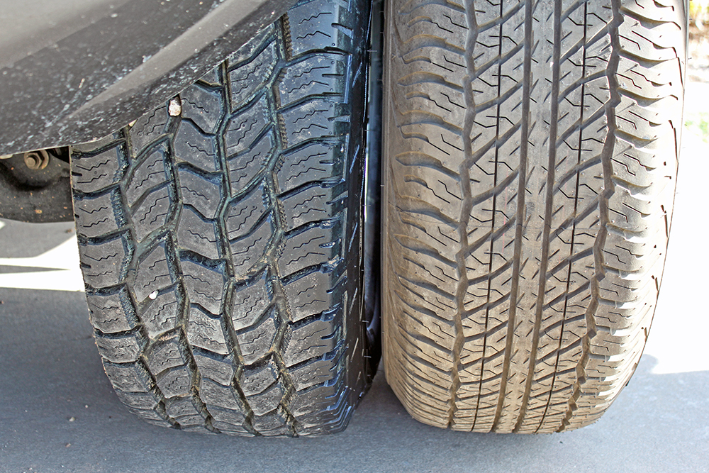 Cooper Discoverer A/T3 Tires - Tread Width