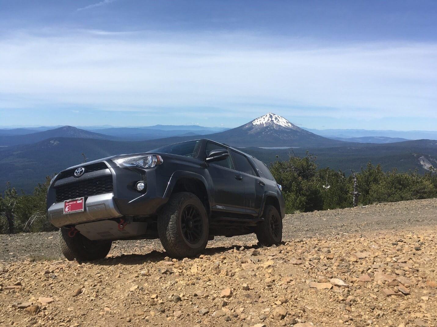 Pelican Butte Sheild Volcano Trail