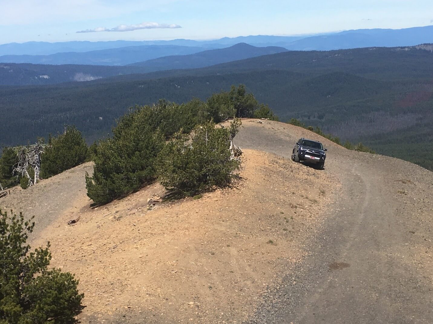 Pelican Butte 4x4 Trail - Parking