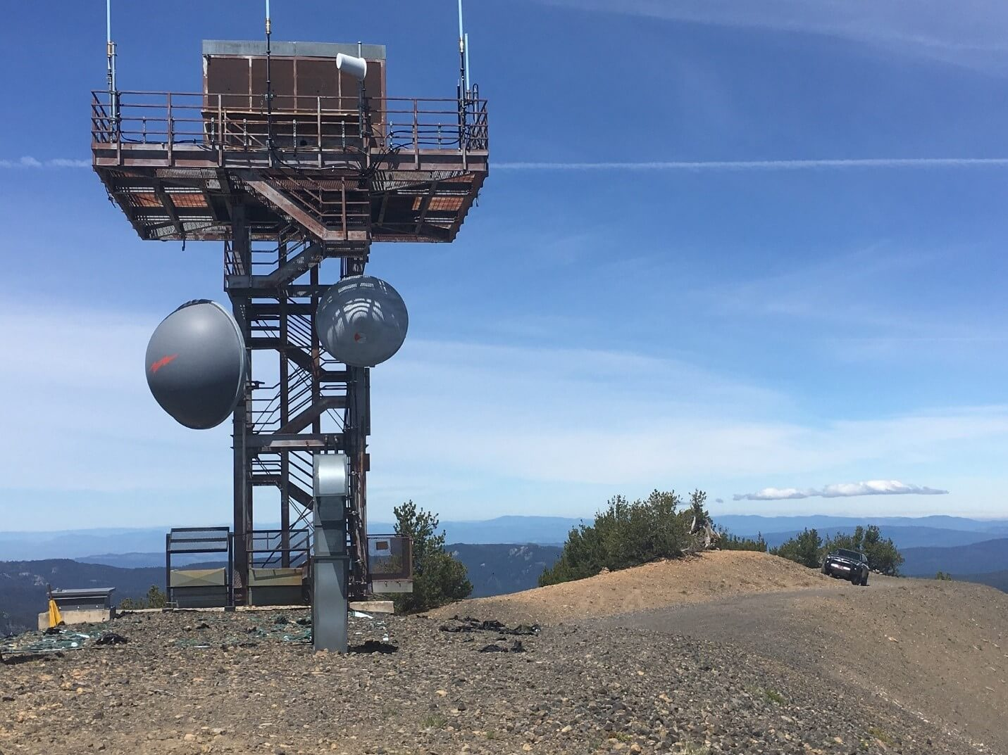 Pelican Butte 4x4 Trail - Fire Lookout Tower