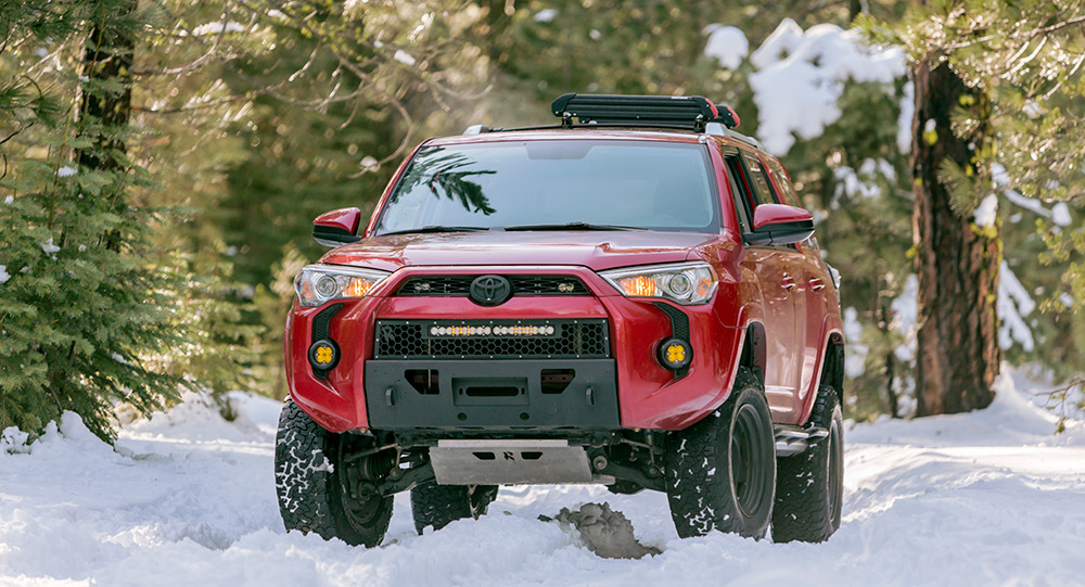 5th Gen 4Runner Front Bumpers, Full-Length & Low Profile
