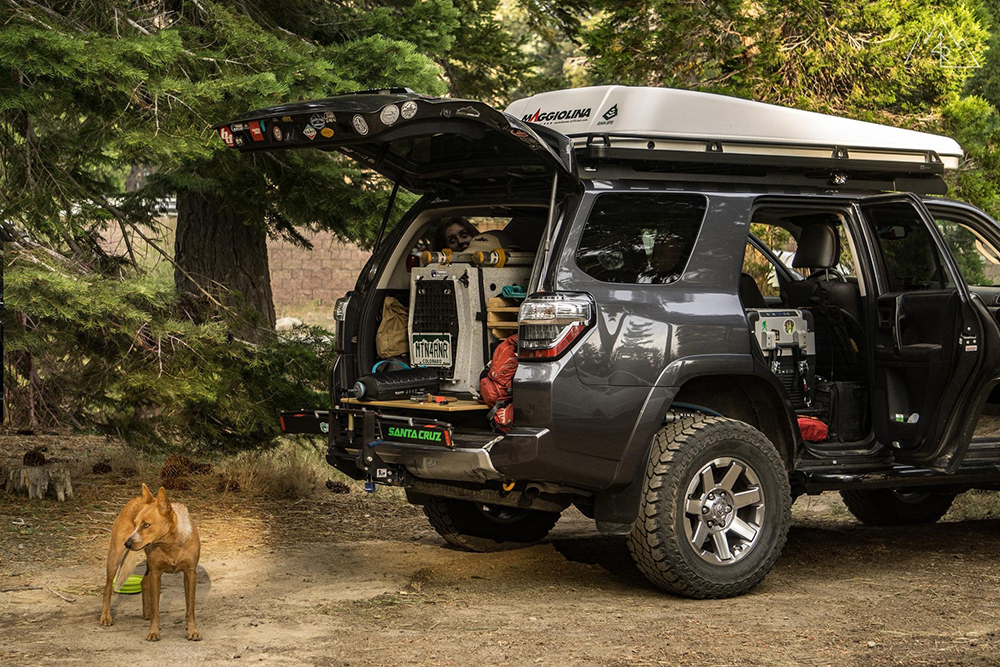 Fully Loaded 4Runner - Extra Weight