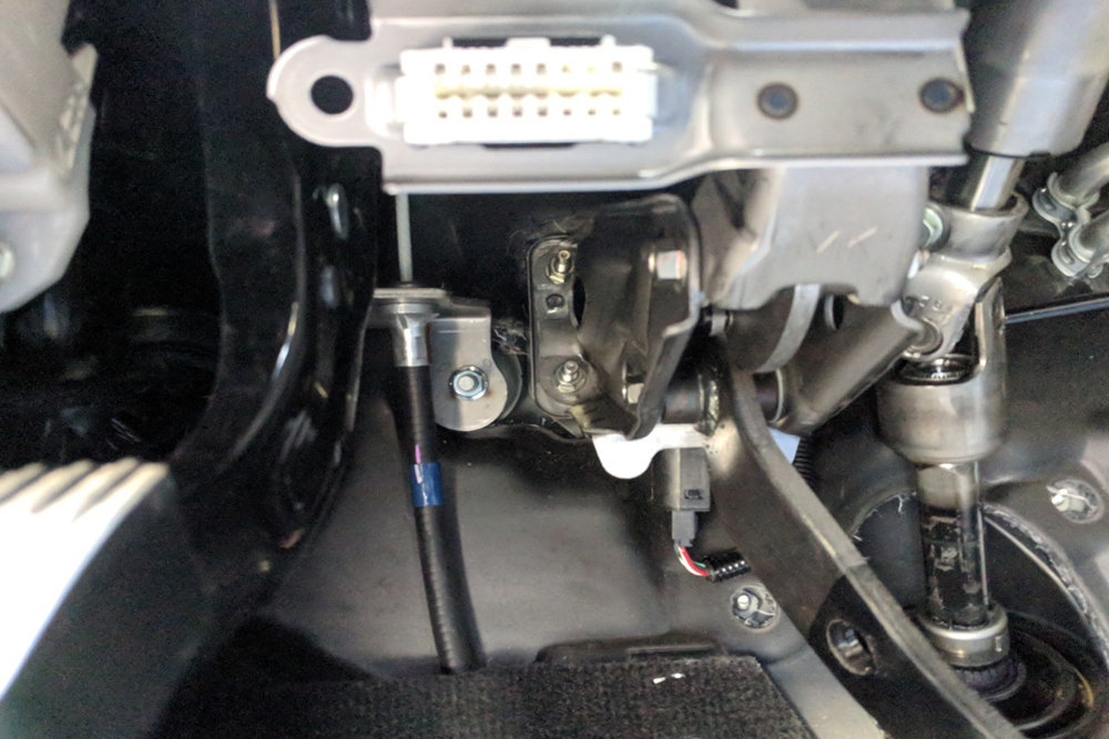 Locate your 4Runner's OBDII port