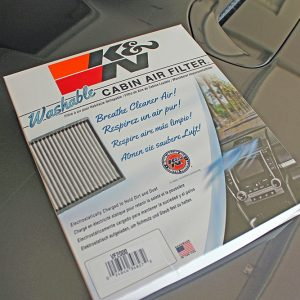 Washable Cabin Filter 4Runner
