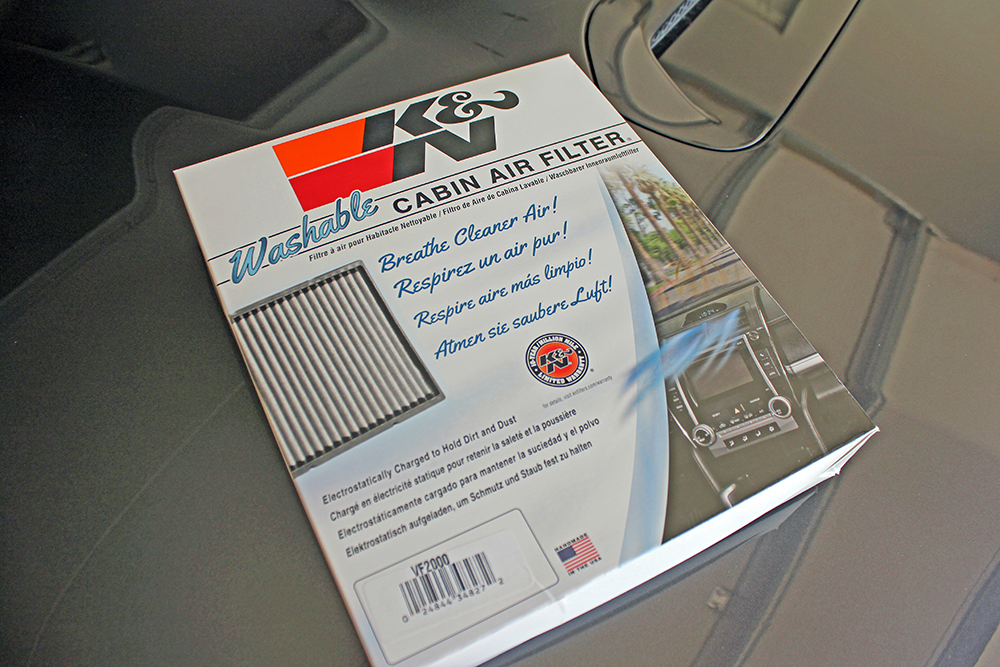 Washable Cabin Filter 4Runner