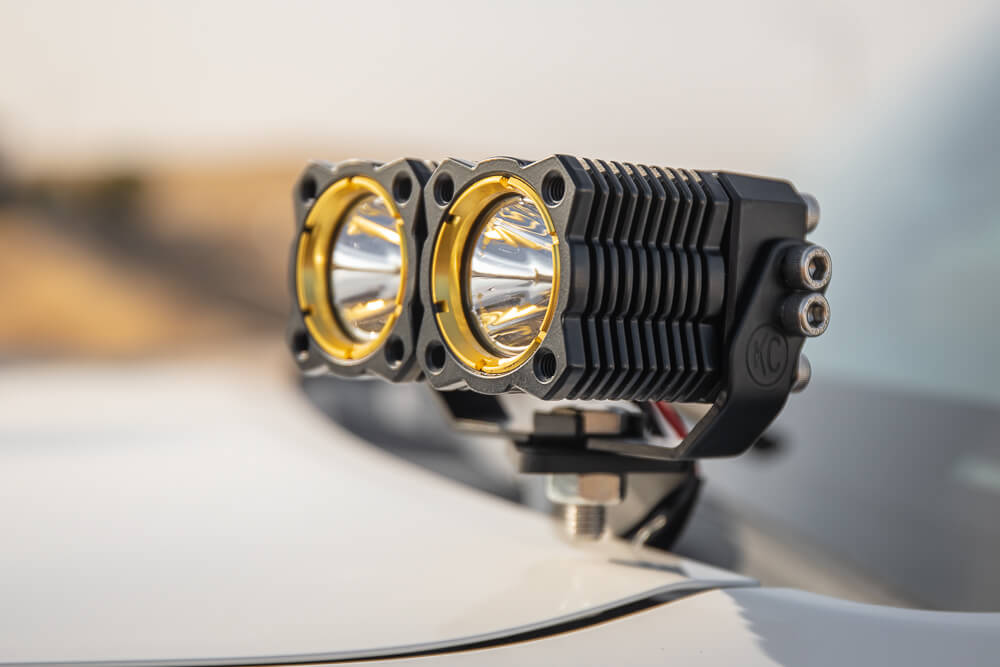 KC HiLiTES Dual Flex 4Runner Ditch Lights
