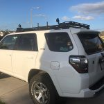 LFD Off-Road Rack with Factory or Steel Rails?
