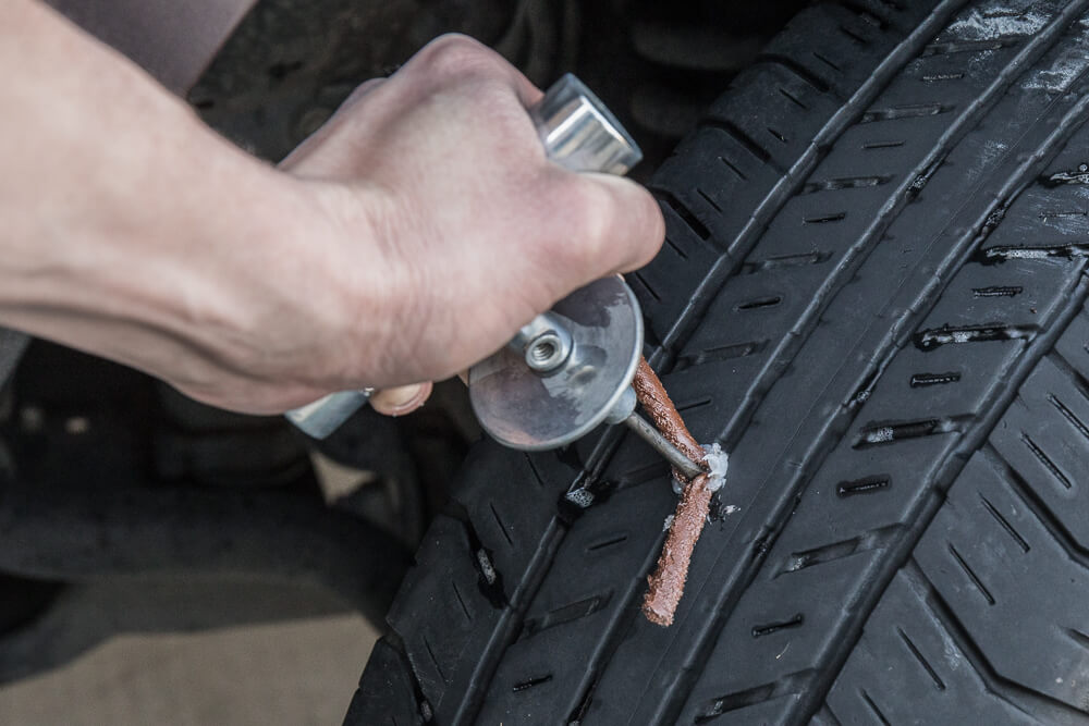 How to Use the Safety Seal Tire Repair Kit