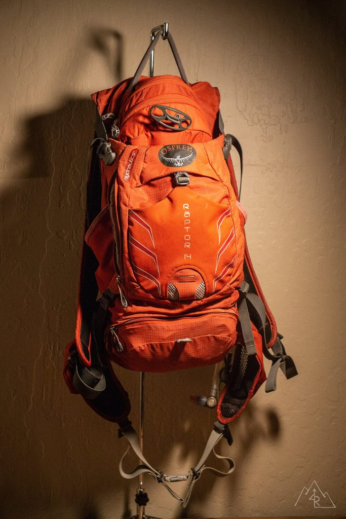 Osprey Raptor 14L hydration pack