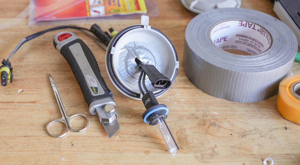 Duct Tape Dust Cap Seals