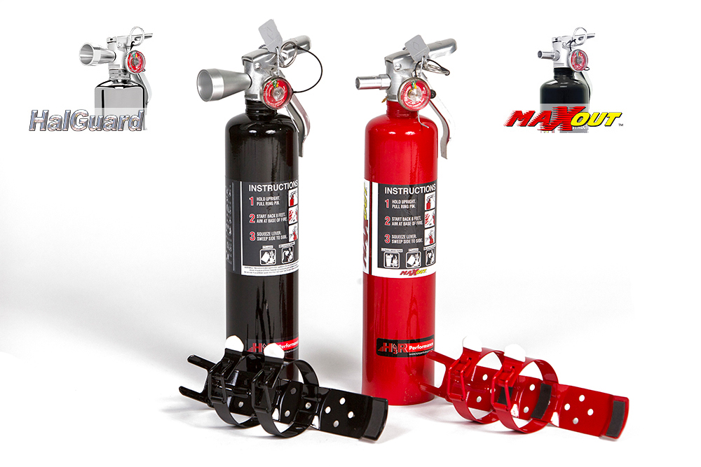 Mounting Fire Extinguishers from H3R Performance