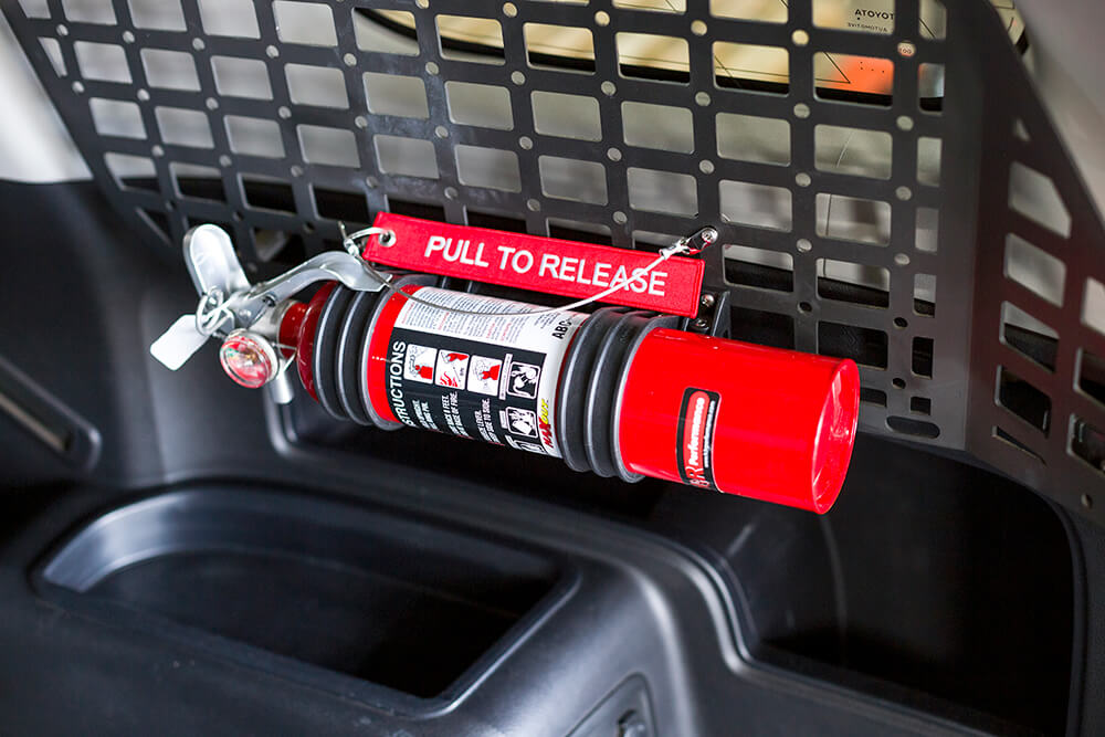 H3R Performance - MaxOut™ MX250R - 4Runner MOLLE Panel Fire Extinguisher