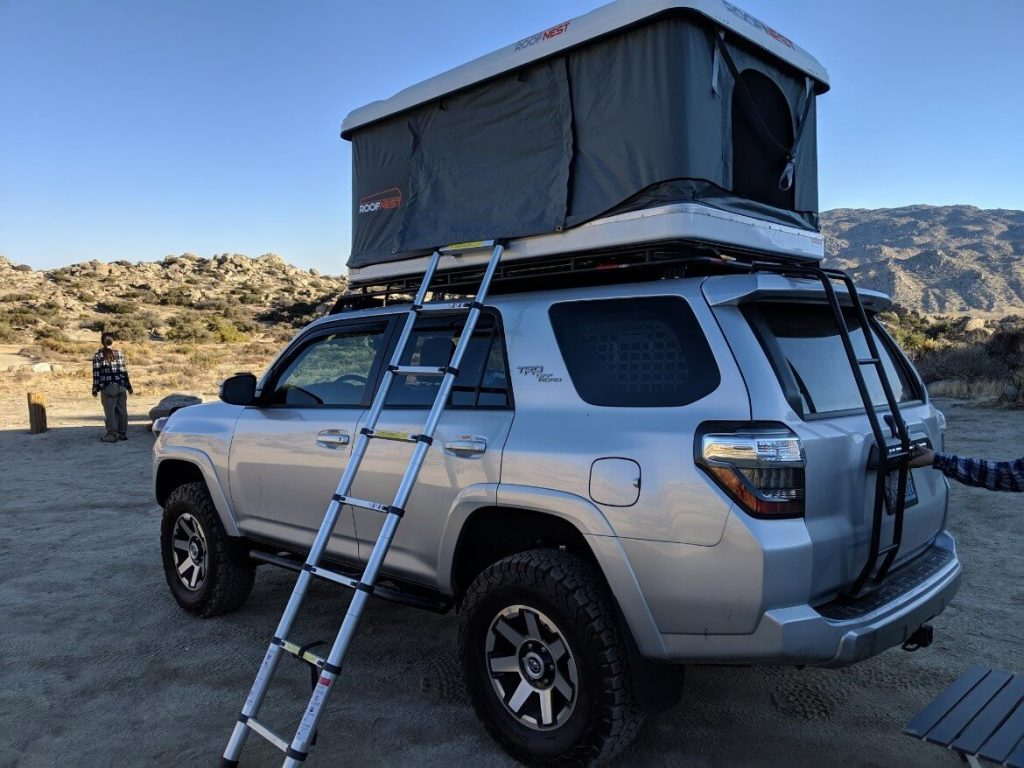 Roof Nest Sparrow Roof Top Tent Install Amp Review On 5th